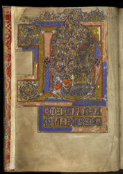 Tree of Jesse, in the Salvin Hours